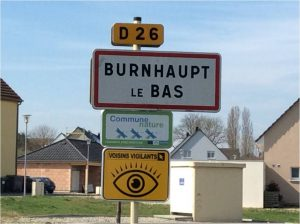 panneau entrée BLB VV